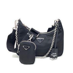 Prada Multiple Pochette Re-edition 2005 Nylon Bag